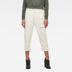 G-Star RAW® Tendric 3D Mid Boyfriend Pants White model front