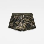 G-Star RAW® Dend Patterned Swimshort Green front bust