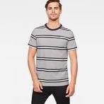 White/Dark Black Stripe