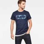 G-Star RAW® Graphic DC Art T-shirt Dark blue model front