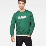 G-Star RAW® Hodin Sweater Green model front
