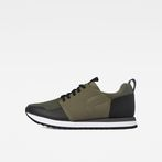 G-Star RAW® Deline II Sneakers Green side view
