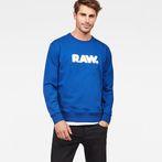 G-Star RAW® Hodin Sweater Medium blue model front