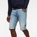 G-Star RAW® Arc 3D 1/2-Length Shorts Light blue front flat