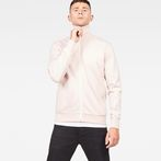 G-Star RAW® Lanc Slim Tracktop Sweater Pink model front