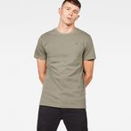G-Star RAW® Zaddle T-Shirt Green model front