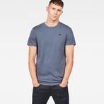 G-Star RAW® Zaddle T-Shirt Dark blue model front