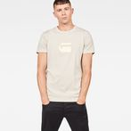 G-Star RAW® Dedda Regular T-Shirt Beige model front