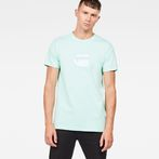 G-Star RAW® Dedda Regular T-Shirt Green model front