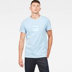 G-Star RAW® Dedda Regular T-Shirt Light blue model front