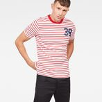 G-Star RAW® 06 Slim T-Shirt Red model front