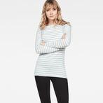 White/Fresh Cote Stripe