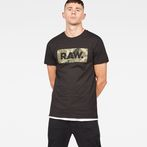 G-Star RAW® Graphic DC Art T-shirt Black model front