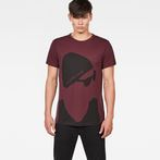G-Star RAW® 11 T-Shirt Purple model front