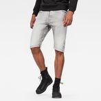 G-Star RAW® Arc 3D 1/2 Shorts Grey front flat