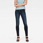 G-Star RAW® Lynn Zip Mid Waist Skinny Jeans Dark blue
