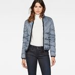 G-Star RAW® Strett Padded Jacket Dark blue model front