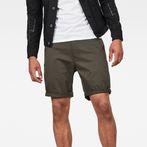 G-Star RAW® Bronson Straight 1\2 Short Grey model front