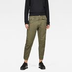 G-Star RAW® Army Radar Mid Boyfriend Pant Green model front