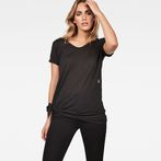 G-Star RAW® Rovi Knotted T-Shirt Black model front
