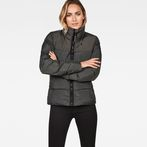 G-Star RAW® Whistler Quilted Slim Jacket Grey model front