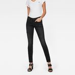 G-Star RAW® 3301 High Waist Skinny Jeans Black