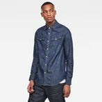 G-Star RAW® 3301 Straight Shirt Dark blue