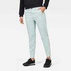 G-Star RAW® Bronson Mid waist Skinny Chino Light blue model front