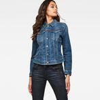 G-Star RAW® 3301 Slim Jacket Medium blue model front