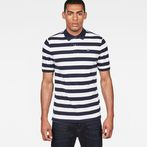 G-Star RAW® Bantson Core Polo White model front