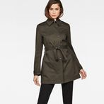 G-Star RAW® Minor Slim Trench Grey model front