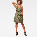 G-Star RAW® G-Star Wrap Dress Green