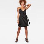 G-Star RAW® G-Star Wrap Dress Black