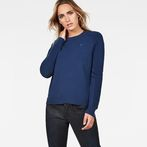 G-Star RAW® Suzaki Knit Dark blue model front