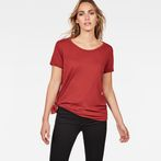 G-Star RAW® Rovi Knotted T-Shirt Red model front