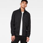 G-Star RAW® Deline Track Overshirt Black model front