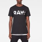 G-Star RAW® Tahire T-Shirt Black model front