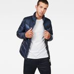 G-Star RAW® Deline Quilted Jacket Dark blue model front