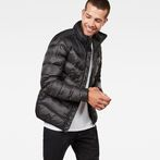 G-Star RAW® Deline Quilted Jacket Black model front