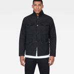 G-Star RAW® Vodan Worker Overshirt Black model front