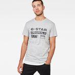 G-Star RAW® Art#2 T-Shirt Grey model front