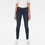 G-Star RAW® Midge Zip Mid Skinny Jeans Dark blue