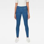 G-Star RAW® Lynn D-Mid Waist Super Skinny Jeans Medium blue