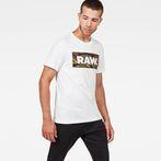 G-Star RAW® DC Art T-Shirt White model front