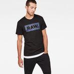 G-Star RAW® DC Art T-Shirt Black model front