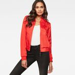 G-Star RAW® Strett Slim Bomber Red model front