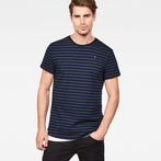 G-Star RAW® Starkon Stripe T-Shirt Dark blue model front