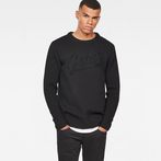 G-Star RAW® Core Logo Knit Black model front