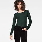 G-Star RAW® Hika Slim T-Shirt Green model front