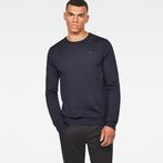 G-Star RAW® Core Knit Dark blue model front